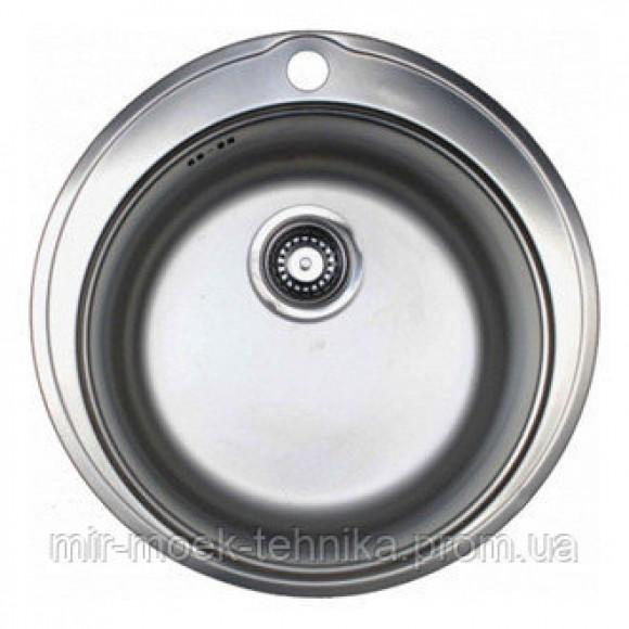 Врезная круглая кухонная мойка Franke RONDA ROL 610-38 1010267707 ДЕКОР