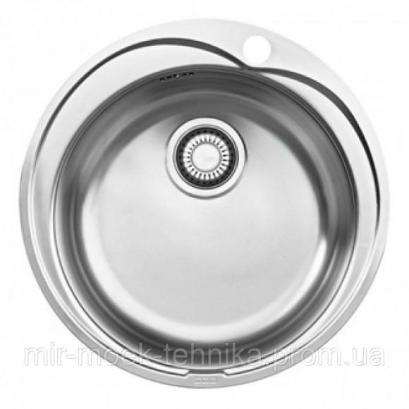 Врезная круглая кухонная мойка Franke Ronda ROL 610-41 1010255788 декор из нержавеющей стали
