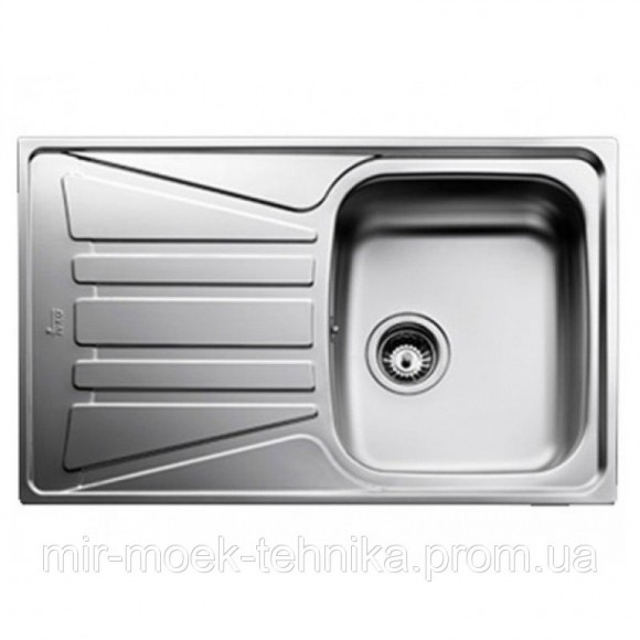 Кухонная мойка Teka Basico 79 1B 1D 10124019 нержавеющая сталь