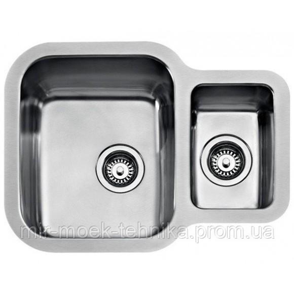 Кухонная мойка Teka BE 1 12 B 625 REV 10125160 нержавеющая сталь