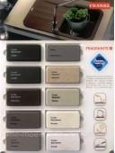 BSG 611-62 кухонна мийка Franke обор фраграніт онікс в 3 і сифон у комплекті