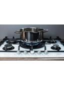 Варочная панель газовая Fabiano FHG 10-55 VGH-T Black Glass