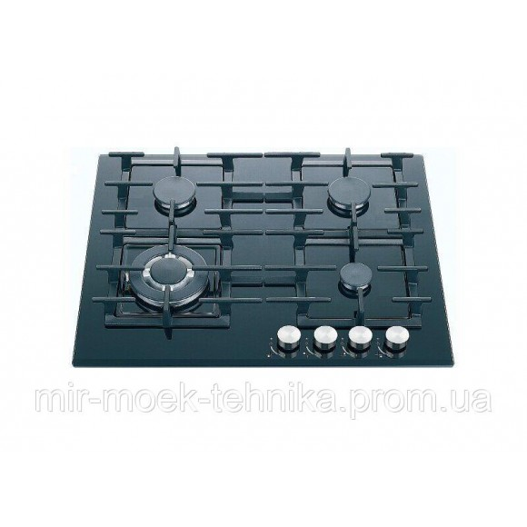 Варочная панель газовая Fabiano FHG 14-44 GH-T Black glass