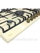 Варочная панель газовая Fabiano FHG-R 27-95 VGH-T Ivory