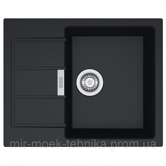 Кухонная мойка Franke Sirius SID 611-62 1140497931 черный