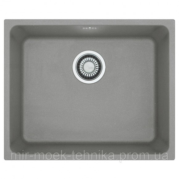 Кухонная мойка Franke Kubus KBG 110-50 1250575040 серый камень