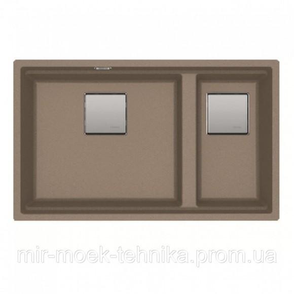 Кухонная мойка Franke KUBUS 2 KNG 120 1250517123 миндаль