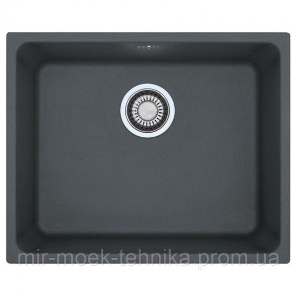 Кухонная мойка Franke Kubus KBG 110-50 1250502835 графит