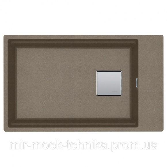Кухонная мойка Franke Kubus 2 KNG 110-62 Super Metallic 1250599043 серебристо-серый