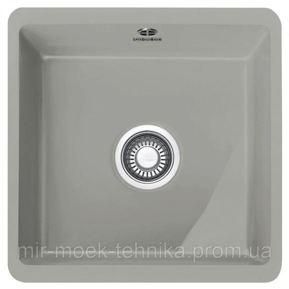 Кухонная мойка Franke Kubus KBK 110-40 1260380351 серый матовый