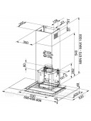 Вытяжка кухонная Franke Glass Linear FGL 905-P XS LED0 3250518784