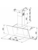 Вытяжка кухонная Franke Vertical Evo FPJ 915 V BK A 1100361902