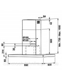 Вытяжка кухонная Franke Crystal Touch FCR 925 I BK XS LED0 3250518709 черное стекло