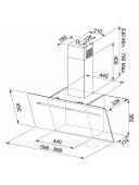 Вытяжка кухонная Franke Smart FPJ 905 V BKBG 1100441355