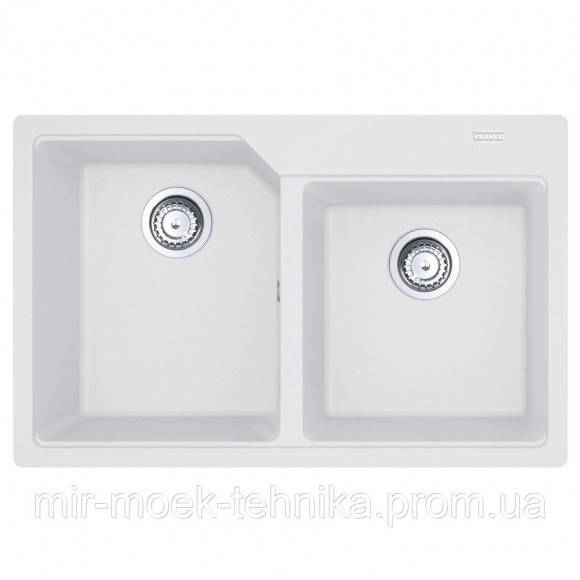 Кухонная мойка Franke Urban UBG 620-78 1140574972 белый