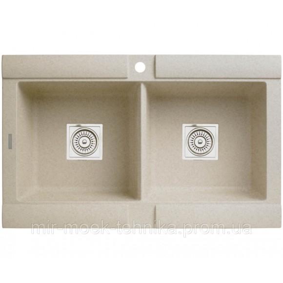 Кухонная двойная мойка LONGRAN GEO LM2166