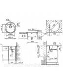 Кухонная мойка Teka CENTROVAL 45 TG 40143219 бежевый