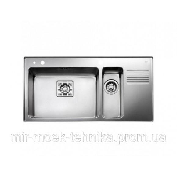 Кухонная мойка Teka FRAME 1 12B 12D RHD 40180531 нержавеющая сталь