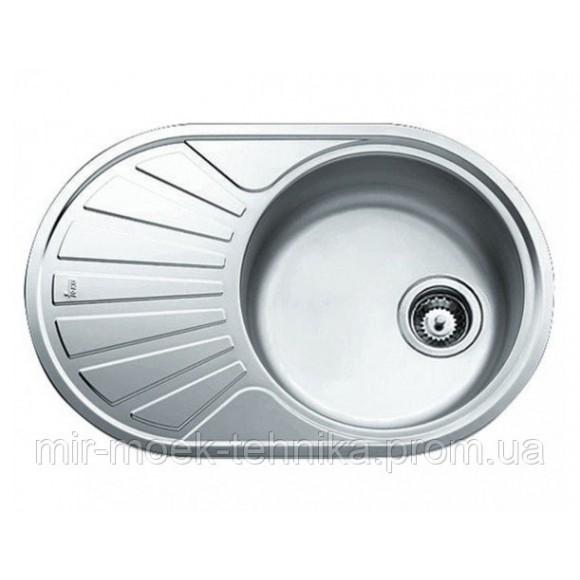 Кухонная мойка Teka DR 77 1B 1D 40127303 нержавеющая сталь