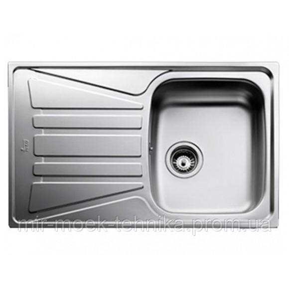 Кухонная мойка Teka Basico 79 1B 1D 10124002 нержавеющая сталь