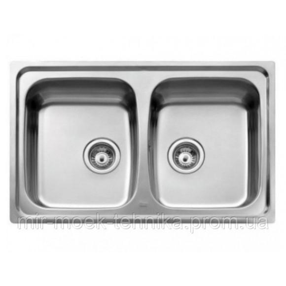 Кухонная мойка Teka Basico 79 2B 11124025 нержавеющая сталь