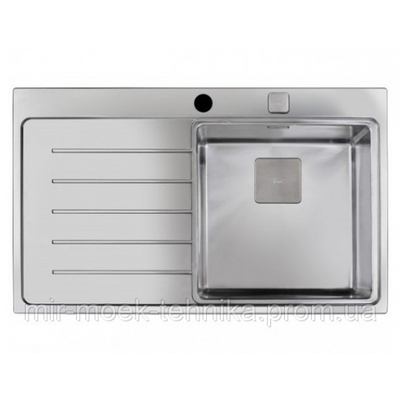 Кухонная мойка Teka ZENIT R15 1B 1D LHD 86 12139015 нержавеющая сталь