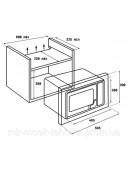 Микроволновая печь встраиваемая Teka WISH Maestro ML 820 BIS 40584200 черный