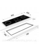 Индукционная варочная поверхность Teka WISH Maestro IR 8300 HS 10210166 черный