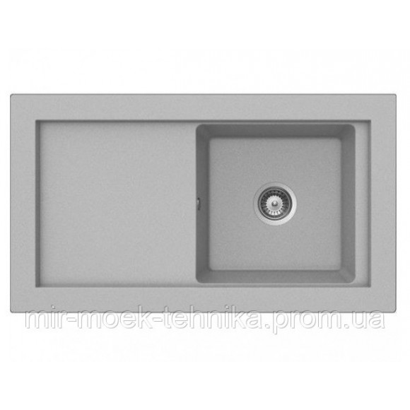Кухонная мойка Teka AURA 45B TG 40143073 серый металлик