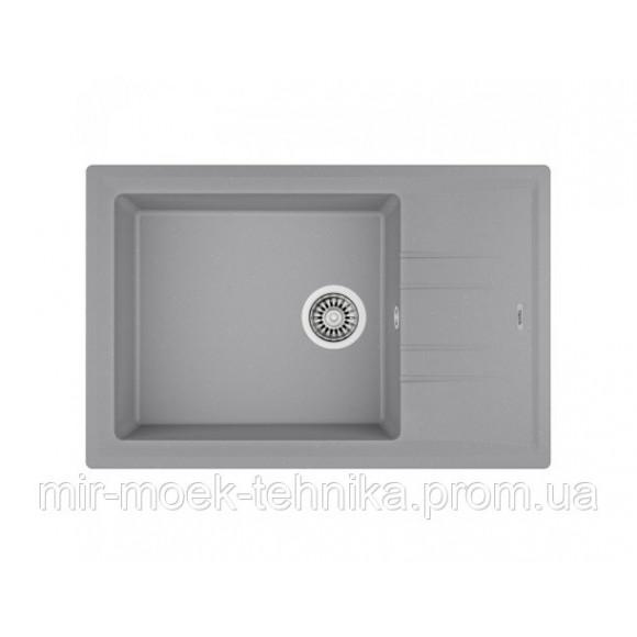 Кухонная мойка Teka STONE 60 S-TG 1B 1D 115330028 серый металлик