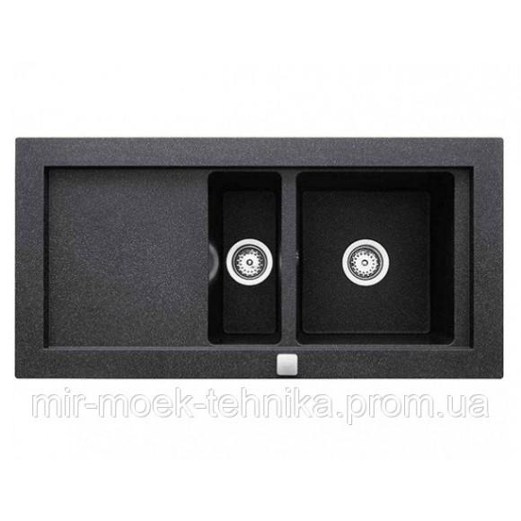Кухонная мойка Teka AURA 60B TG 40143062 черный металлик